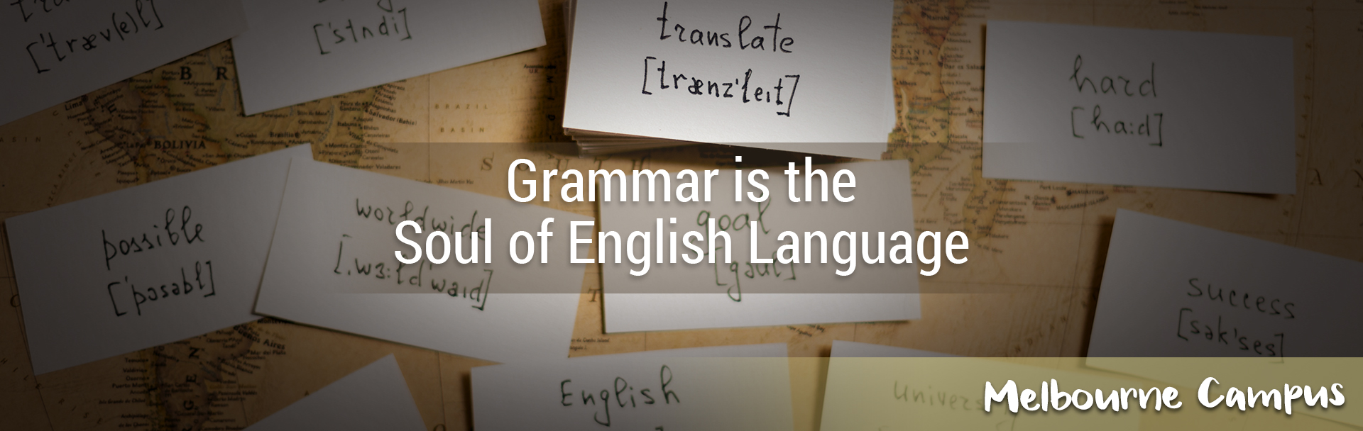 Grammar is the Soul English Language